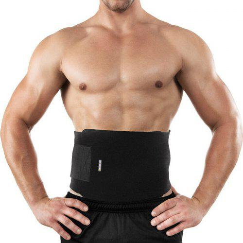 Men's Fitness Protection Weightlifting Belt Abdomen Waist Fitness Outdoor Sports Bandage Protective Gear