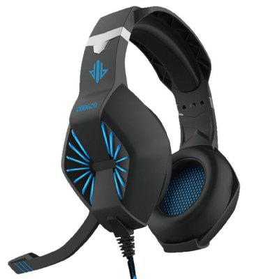 7.1 Microfoon Headset Computer Gaming Vibration USB Notebook oortelefoon