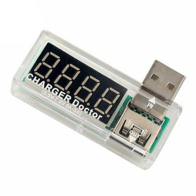 USB opladen Huidige / Voltage Tester Detector Mobile Power Tester