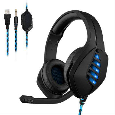 Computer Gaming Headset Desknotes luminiscenční Drive-by-wire pro PS4