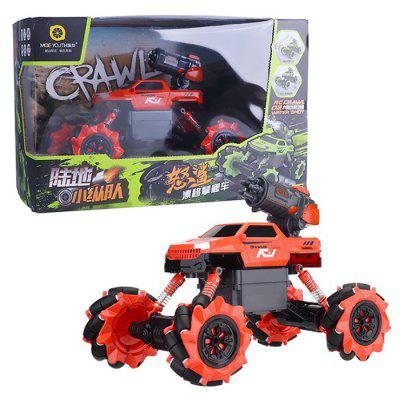 2-in-1 Bubble Gun Multifunction RC Climbing Stunt Car