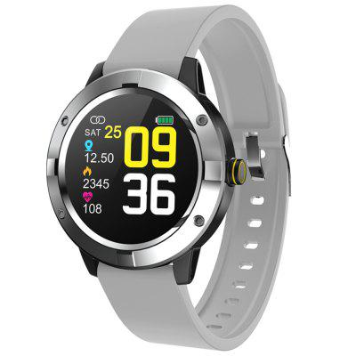 Q10 Sports Smart Watch Full Touch 1.3 inch Color Display Heart Rate Heart Pressure Sleep Monitoring Waterproof Multifunction Smartwatch