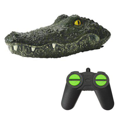 MX-0030 2.4G 4-kanaals Simulation Crocodile Animal RC Boat Toy
