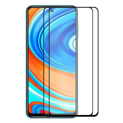 ENKAY 9H 2.5D Tempered Glass Screen Protector Full-screen Protective Film for Redmi K30 / K30 Pro / Note 9 / Note 9 Pro 2pcs