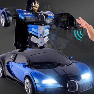 1:14 Electric Remote Control RC Stunt Car Gesture Sensor Transformable Robot Toy