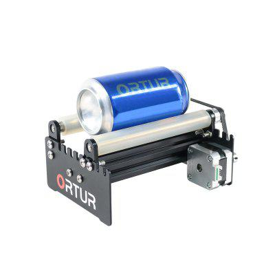 Gearbest - ORTUR Laser Engraver Y-axis Rotary Roller Engraving Module for Engraving Cylindrical Objects Cans