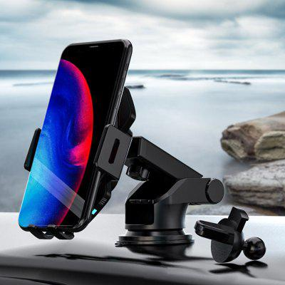 10W Car Wireless Charger Phone Holder Auto Power off Automatic Opening Closing Stand