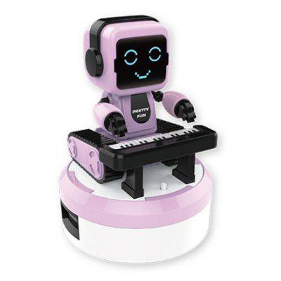 Smart Sound and Light Sensor Electric Kinderen Toy Music Robot Ensemble Band