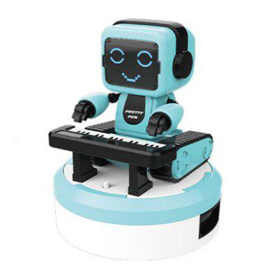 Smart Sound and Light Sensor Electric Children Toy Music Robot Ensemble Band