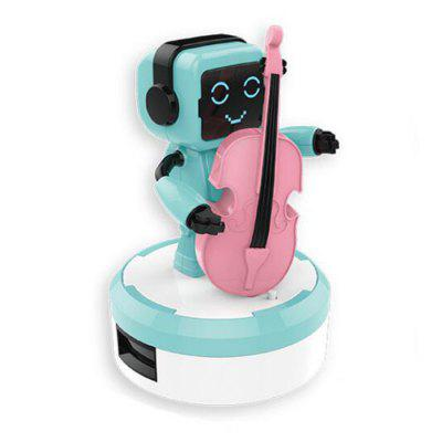 Smart Sound and Light Sensor Electric Gyermekek Toy Music Ensemble zenekar Robot