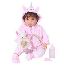 OtardDolls 20 inch Reborn Baby Doll Soft Vinyl Toy Sleeping Accompany Dolls Toys for Kids