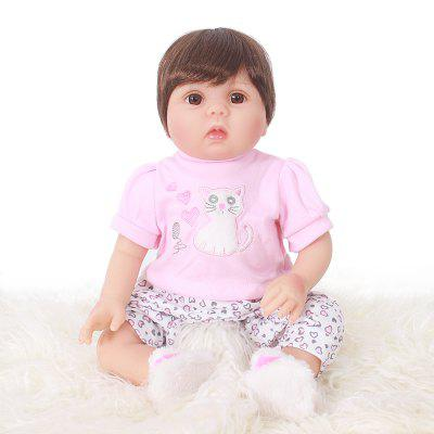 OtardDolls SJ50303 20 inch Baby Reborn Doll Soft Vinyl Toy Sleeping Accompany Dolls Toys for Kids
