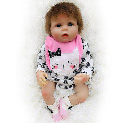 OtardDolls SDK-28R5 20 inch Baby Reborn Doll Soft Vinyl Toy Sleeping Accompany Dolls Toys for Kids Gift