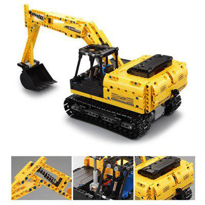 CADA C51057 Assembled Remote Control Toy Car Excavator Building Blocks 544pcs