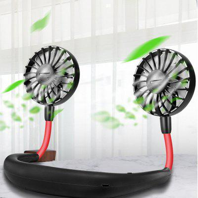 Halter Neck Travel Sports Fan Small Fan Portable Mini Portable USB Charging