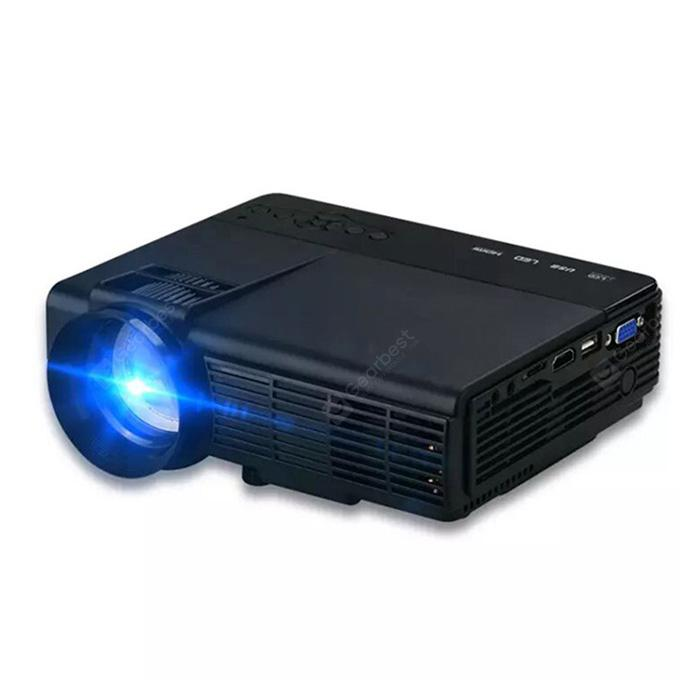 Thinyou Q5 Micro Projector 2600LM Support 720P LED Portable Home Theater Android Phone Wireless Sync Display