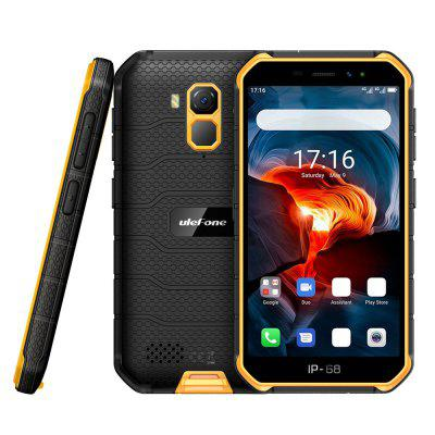 Ulefone Armor X7 Pro 4G Smartphone 5 inch Android 10 MT6761 4 GB RAM 32 GB ROM 13MP achteruitrijcamera 4000mAh batterij IP68 Waterdicht Global Version
