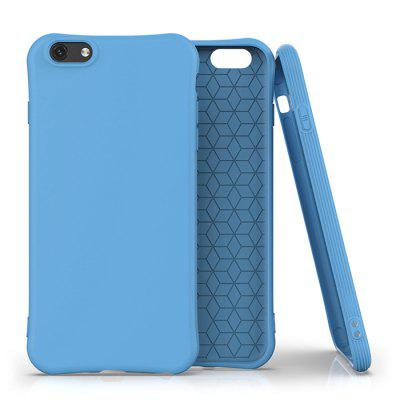 Candy Kleur Soft TPU Shock Proof beschermende Mobile Phone Case Cover voor de iPhone 6 / 6S / 6 Plus / 6S Plus