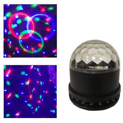 W539 LED Magic Ball Stage Light Rotating Starry Sky Crystal Lamp for Family Party AC100-240V
