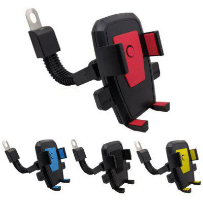 Universal Phone Holder Navigation Stand Bracket Automatic Lock 360 Degree Rotation for Electric Vehicles / Scooter / Bike / Motorcycle / Bicycle