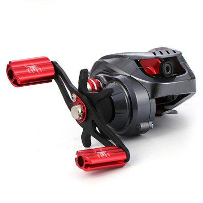 Water Droplet Wheel Low Profile Casting Fishing Reel SV Line Cup 19 Bearing