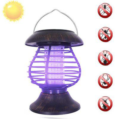 SYJF 162 Hanging Portable Solar Energy Mosquito Killer Repellent Lamp with Ground Inserted Pole