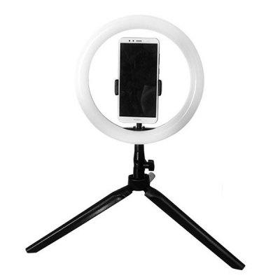 CAMVATE HQ017 Desktop Ring Tvar LED Fill Light s statív Mobile Video tváre Beauty Lamp selfie živé držiak