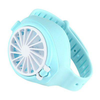 Mini USB Charging Portable Watch Fan Children Creative Gift Three-level Wind Control