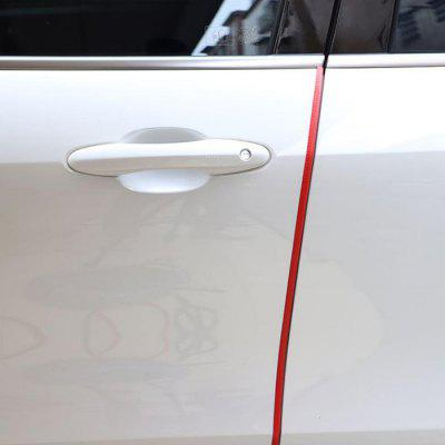 Car Anti-collision Bumper Reflective Strip Invisible Universal Free Paste Door Side Anti-scratch Protection Decoration 1M