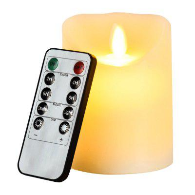 LED Candle Lamp Swing Decoration Light with Remote Control