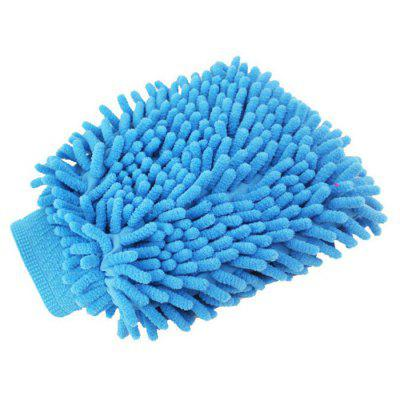Double-sided Car Washing and Dust Removal Glove Cleaning Cloth Vehicle Cleaning Tool