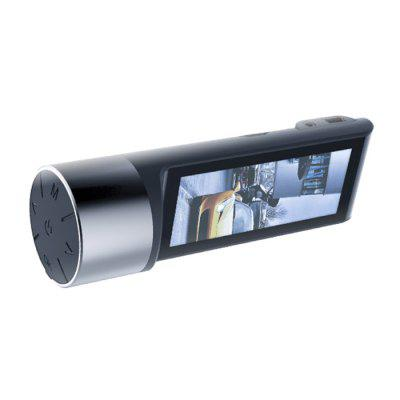 Hidden Front and Rear Dual Record Car DVR 3.2 inch Large-screen Driving Recorder