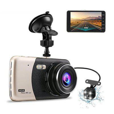 4-inch dual-lens Driving Recorder Ips high-definition scherm HD Car Recorder