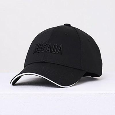 WU3065AL Solid Color Embroidery Baseball Cap Unisex Korean Outdoor Sports Sun Shade Hat