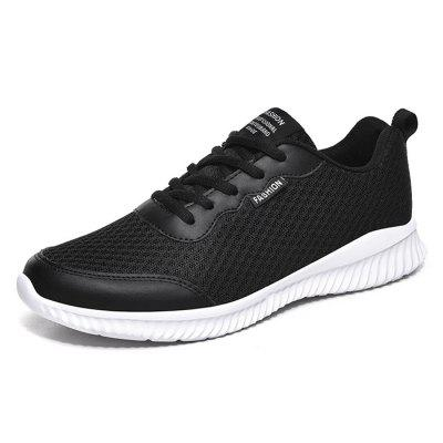AILADUN Men Sports Shoes Ultra Light Breathable Mesh Running Hiking Footwear