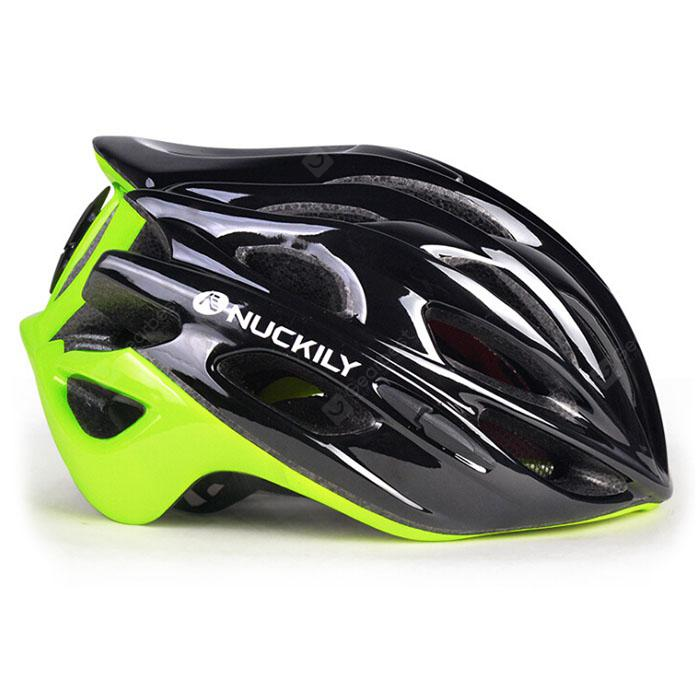 NUCKILY PB13 Lightweight One-piece Bike Bicycle Protection Helmet for Adults