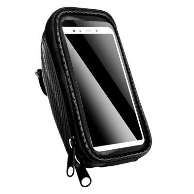 Practical Touch Screen Bicycle Bags Cycling Waterproof MTB Frame Front Tube Storage Mountain Bike Bag