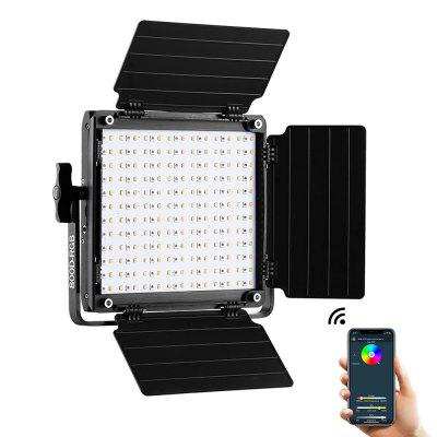 GVM GREAT VIDEO MAKER 800D-RGB LED Studio Video Light APP Intelligent Control