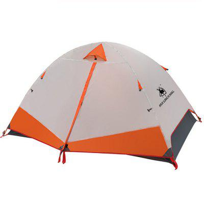 HUILINGYANG Outdoor Double Layer Aluminium Regendicht Camping Tent voor Double Person Large Spaces
