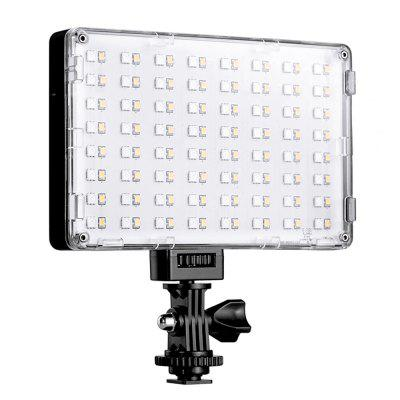 GVM GREAT videomaker RGB-10S LED On-Camera RGB LED Video Light met Wi-Fi Controle