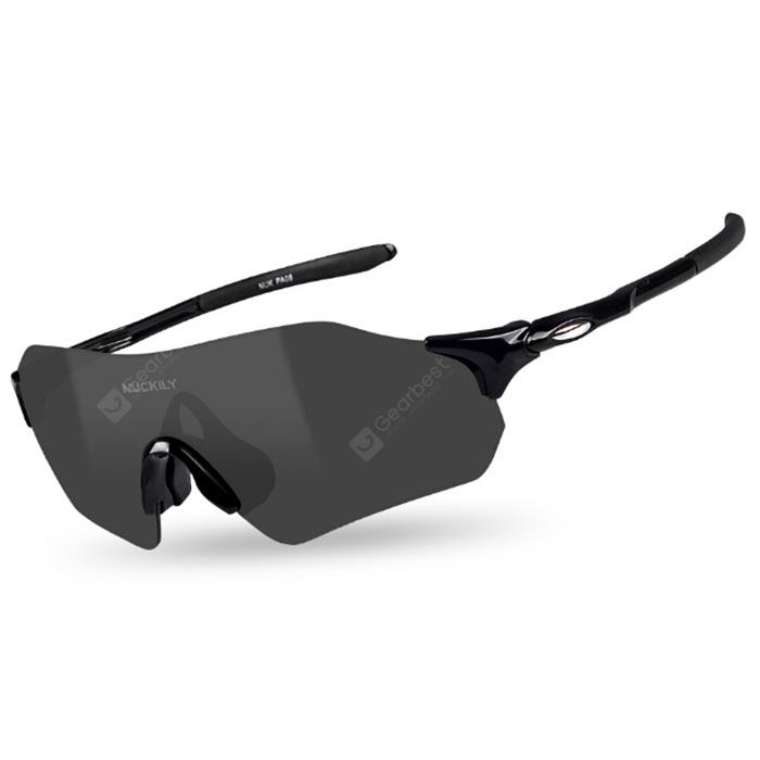 NUCKILY Outdoor Sports Windproof Anti-sand Mountain Cycling Sunglasses Riding Glasses