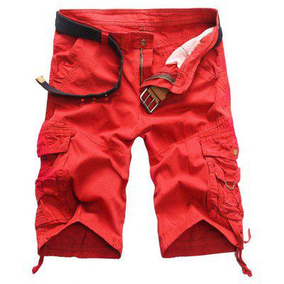 Men's Casual Shorts Overalls Style