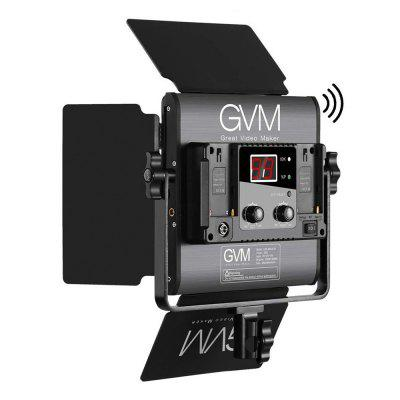 GVM GREAT VIDEO MAKER LED-480LS-B LED Studio Video Light Panel Kit with Smart WiFi Mobile App Control