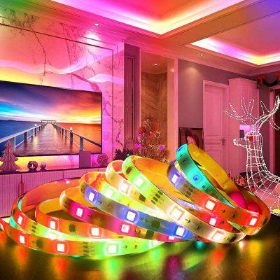 YX-17 Symphony RGB 5050 Soft LED Strap Light 5M 150 LEDs IP65 Waterproof with Controller