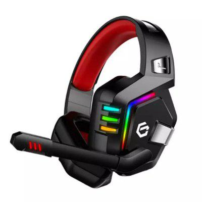 Extra Bass Gaming Wired Headset 3D Virtual Speaker met LED Breathing Light
