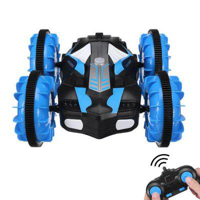 C10 2.4G 4WD 6-Channel Water and Land RC Stunt Car