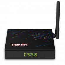 Tanix H3 Smart 4K TV Box with HiSilicon Hi3798MV130 Android 9.0 2.4GHz + 5GHz Dual-WiFi 100Mbps Bluetooth 4.0 Netflix Google Play H.264 H.265 HDR10 Support 4K 60fps