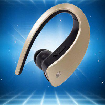 Q2 Bluetooth 4.1 Headset Hanging Ear Sport Stereo Earphones Mini Wireless Universal Headphone Multi-function Touch Button