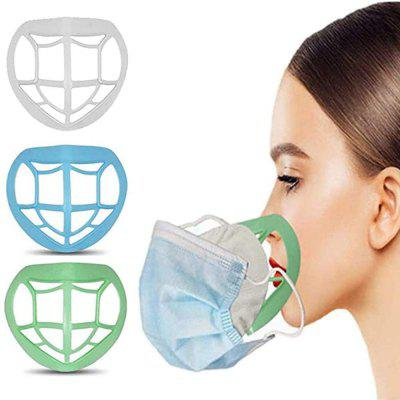 3D Face Mask Inner Pad Holder Bracket Safe and Dustproof Non-stain Lipstick