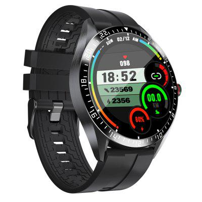 KUMI GW16T Upgraded Smart Temperature Detection Watch Waterproof IP67 Bluetooth 5.0 Multiple Sports Modes Healthy Colorful Fashion Smartwatch